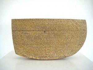 honigfarben, Bubingaholz, 27 x 47 x 12 cm