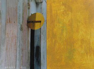 ZR-Kuba – giving color 8, 2010, Foto übermalt, 50 x 70 cm