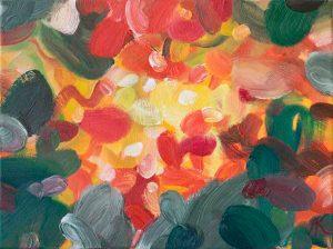 Kleine Ahnung VI, 2011, Öl auf Leinwand, 40 x 30 cm