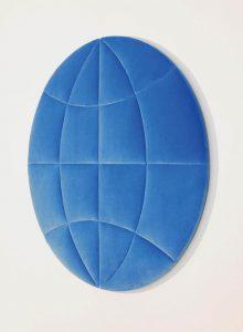Planeten-Ikone in blau, ⌀ 100 cm, 2006