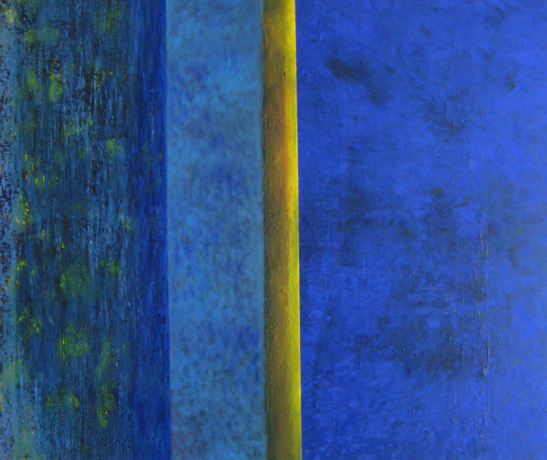 Begegnung, 115 x 140 cm, 2002