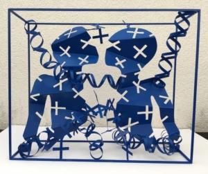 E. R. Nele, Blau das Spiel mit dem Kreuz