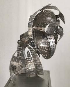 E. R. Nele, Kopf mit binären Zahlen